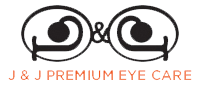 J & J Premium Eye Care Logo